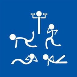 fitness ikon